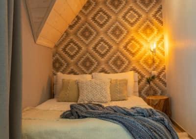 sypialnia pokoje w górach