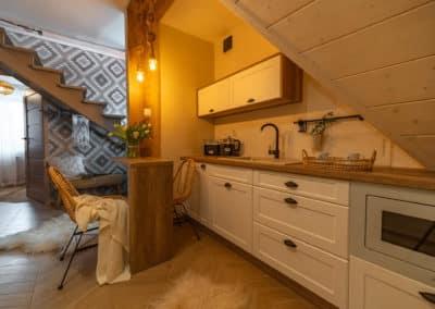 domek z aneksem kuchennym